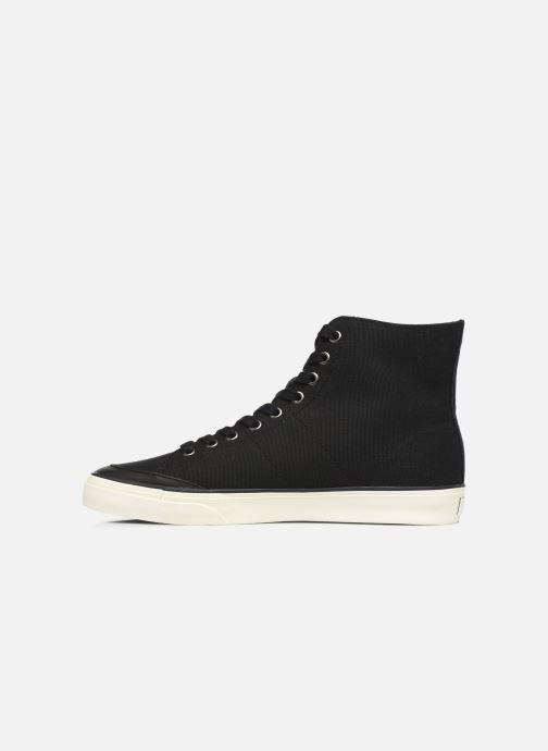 Baskets Polo Ralph Lauren Solomon-Ne-Sneakers-Vulc Noir vue face