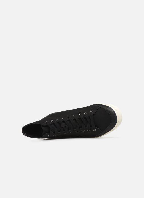 Baskets Polo Ralph Lauren Solomon-Ne-Sneakers-Vulc Noir vue gauche