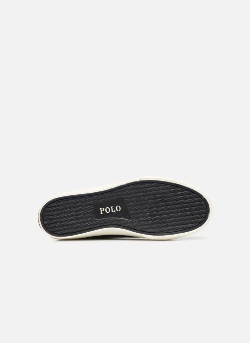 Baskets Polo Ralph Lauren Solomon-Ne-Sneakers-Vulc Noir vue haut