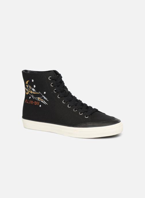 Sneakers Polo Ralph Lauren Solomon-Ne-Sneakers-Vulc Zwart detail