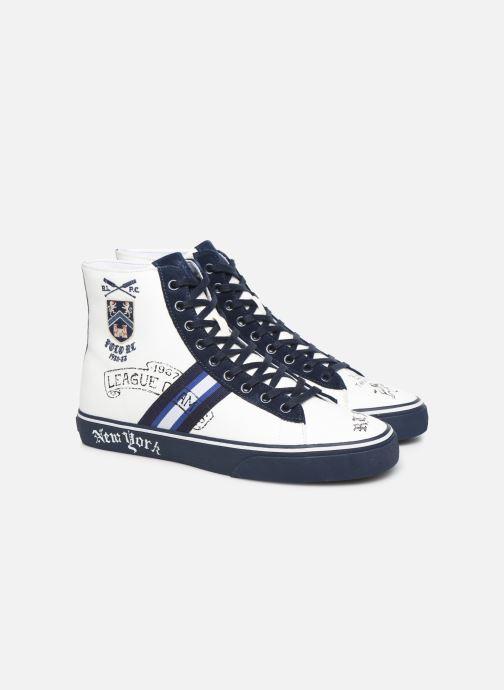 Baskets Polo Ralph Lauren Solomon Ii-Sneakers-Vulc Bleu vue 3/4