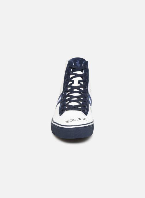 Baskets Polo Ralph Lauren Solomon Ii-Sneakers-Vulc Bleu vue portées chaussures