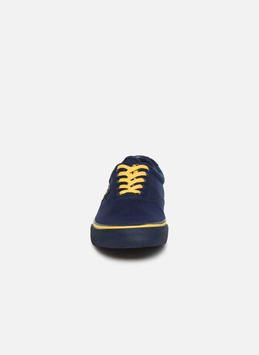 Baskets Polo Ralph Lauren Thrtn Iii Ne-Sneakers-Vulc Bleu vue portées chaussures