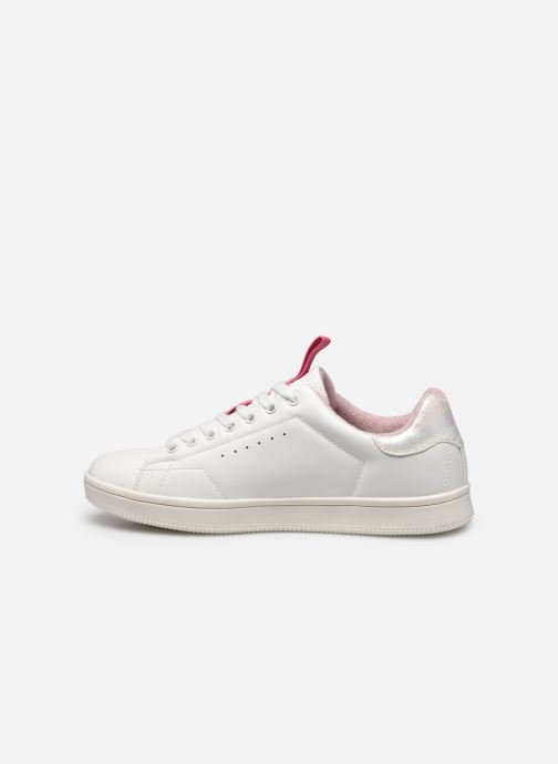 Baskets ONLY ONLSHILO PU IRIDESCENT SNEAKER Blanc vue face
