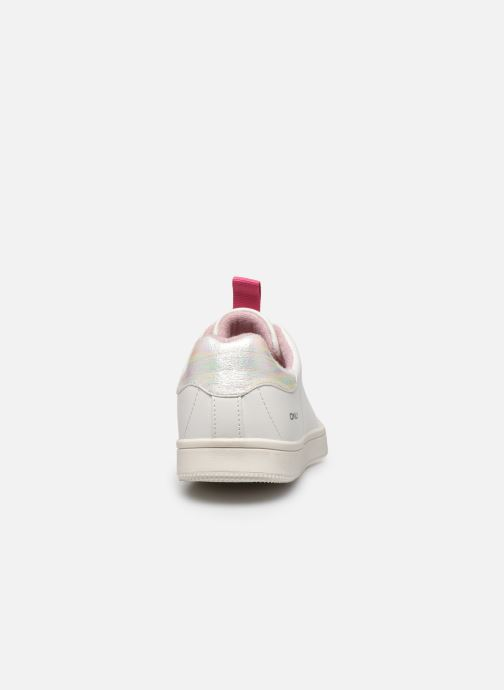 Baskets ONLY ONLSHILO PU IRIDESCENT SNEAKER Blanc vue droite