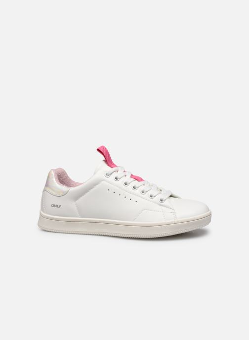 Sneakers ONLY ONLSHILO PU IRIDESCENT SNEAKER Wit achterkant