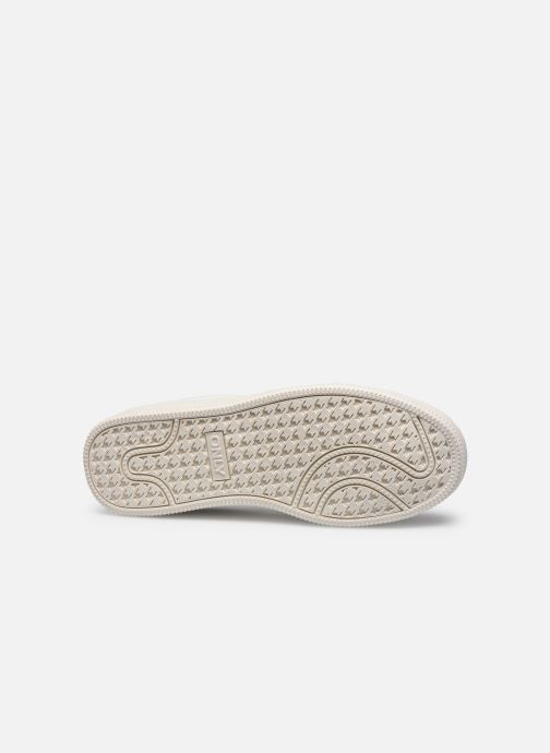 Trainers ONLY ONLSHILO PU IRIDESCENT SNEAKER White view from above