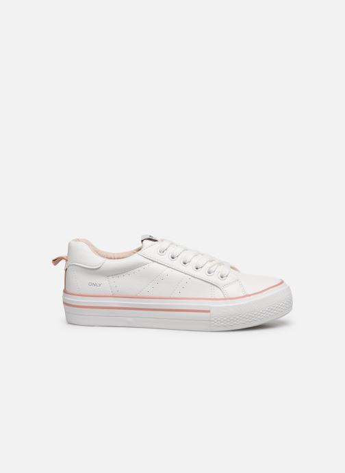 Sneakers ONLY ONLSAILOR PU DETAIL SNEAKER Wit achterkant