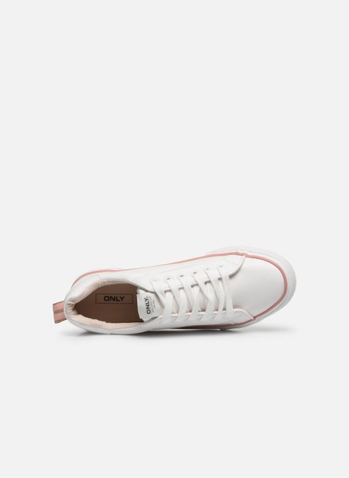 Sneakers ONLY ONLSAILOR PU DETAIL SNEAKER Wit links