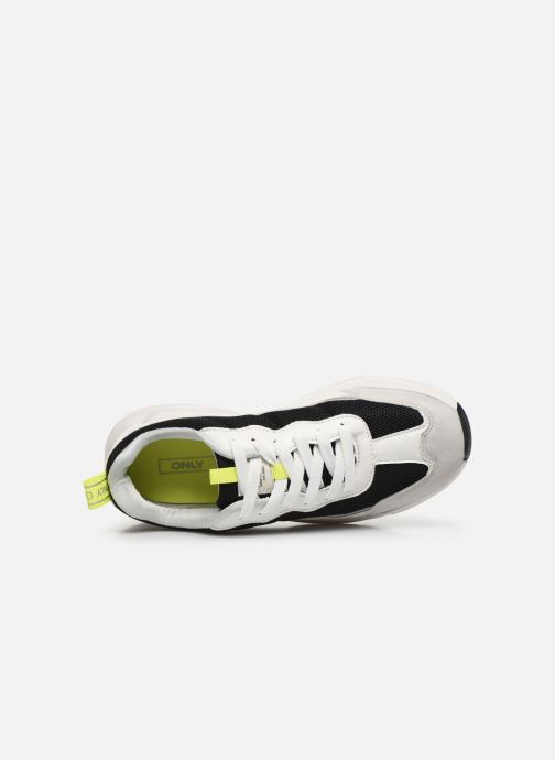 Sneakers ONLY ONLSHAY PU CHUNKY SNEAKER Bianco immagine sinistra