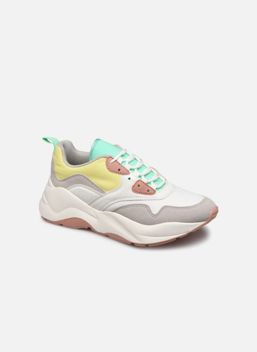 Baskets ONLY ONLSTORM MIX CHUNKY SNEAKER Blanc vue détail/paire