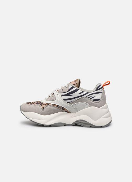 Sneakers ONLY ONLSTORM MIX CHUNKY SNEAKER Beige voorkant