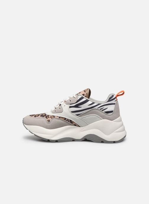 Sneakers ONLY ONLSTORM MIX CHUNKY SNEAKER Beige immagine frontale