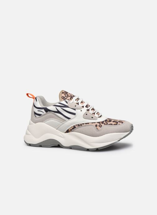 Sneakers ONLY ONLSTORM MIX CHUNKY SNEAKER Beige achterkant