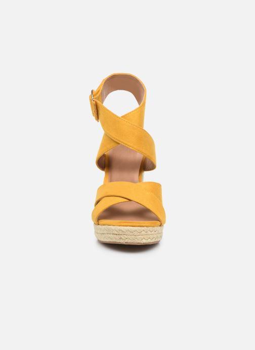Alpargatas ONLY ONLAMELIA WRAP HEELED SANDAL Amarillo vista del modelo