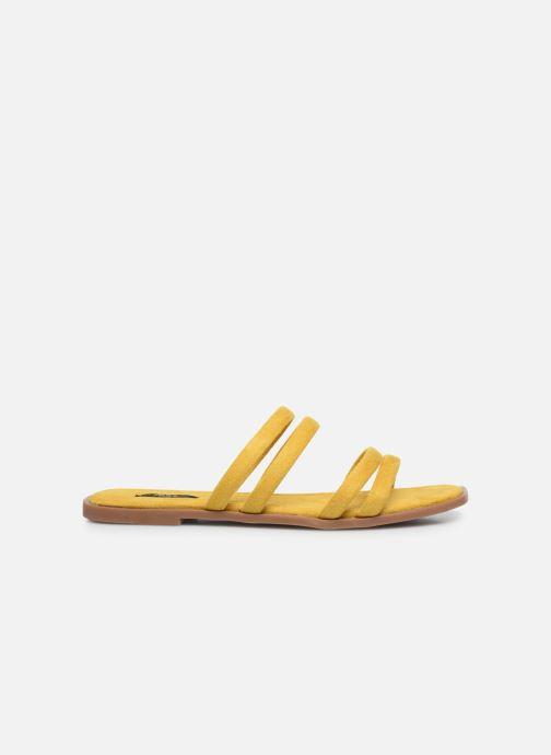 Clogs & Pantoletten ONLY ONLMIA STRAP SLIP ON gelb ansicht von hinten
