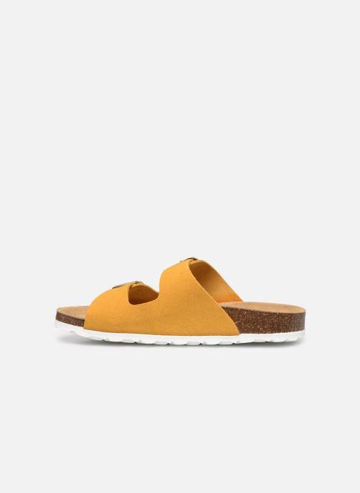 Clogs & Pantoletten ONLY ONLMADISON SUEDE SLIP ON gelb ansicht von vorne