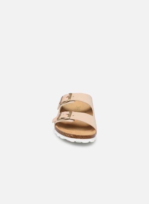 Clogs & Pantoletten ONLY ONLMADISON SUEDE SLIP ON beige schuhe getragen