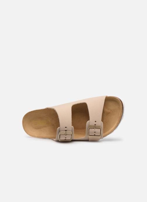 Clogs & Pantoletten ONLY ONLMADISON SUEDE SLIP ON beige ansicht von links