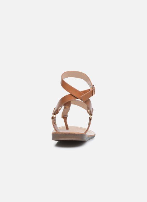 Sandalen ONLY ONLMATHILDA PU CROC SLIP ON braun ansicht von rechts