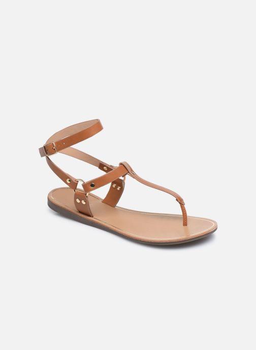 Sandalen ONLY ONLMATHILDA PU CROC SLIP ON braun detaillierte ansicht/modell