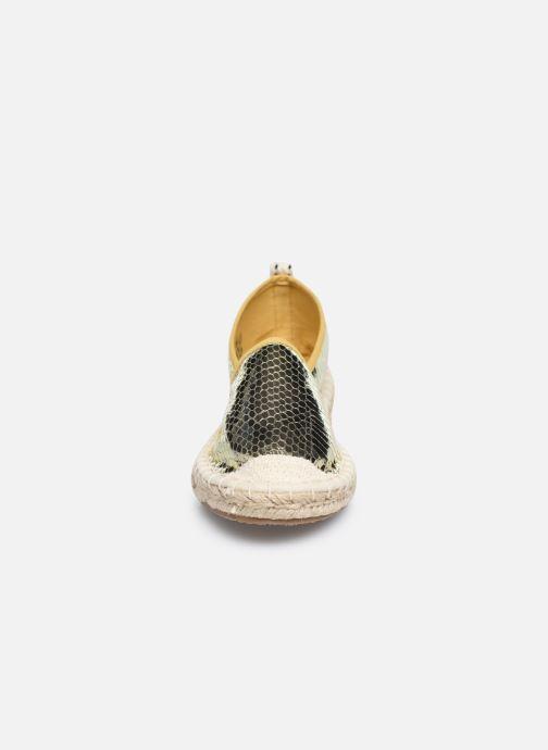 Espadrilles ONLY ONLEVA STRUCTURE ESPADRILLOS Or et bronze vue portées chaussures