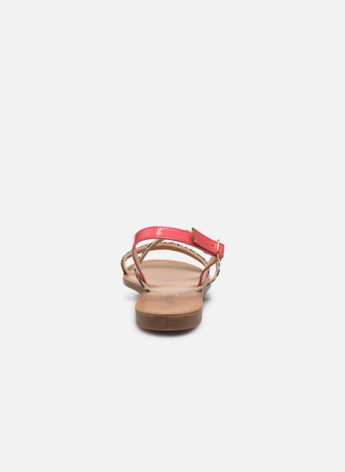 Sandales et nu-pieds ONLY ONLMELLY PU STONE SANDAL Rose vue droite