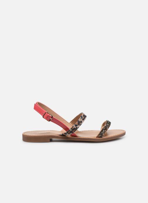 Sandales et nu-pieds ONLY ONLMELLY PU STONE SANDAL Rose vue derrière