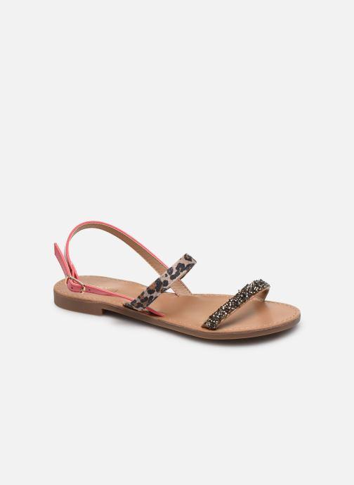 Sandales et nu-pieds ONLY ONLMELLY PU STONE SANDAL Rose vue détail/paire