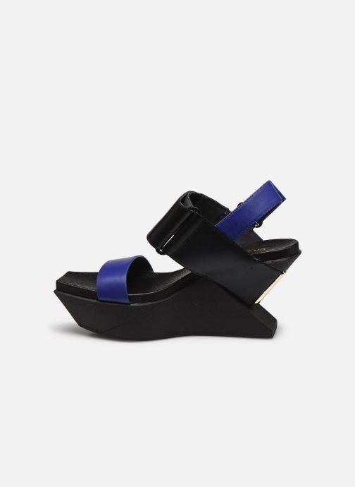 Sandali e scarpe aperte United Nude DELTA WEDGE SANDAL Nero immagine frontale