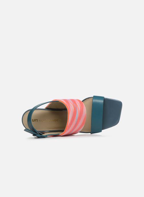 Sandales et nu-pieds United Nude LEONA OP SANDAL HI Bleu vue gauche