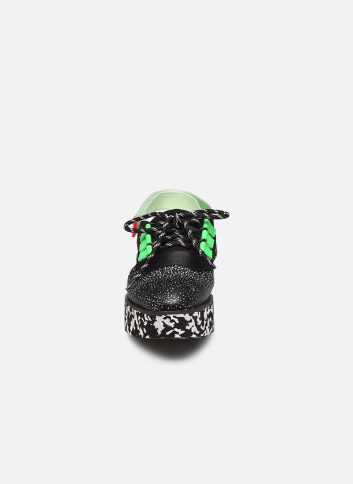 Baskets United Nude MIKU SPORT SUMMER Noir vue portées chaussures