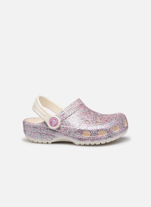 Sandales et nu-pieds Crocs Classic Glitter Clog Kids Marron vue derrière