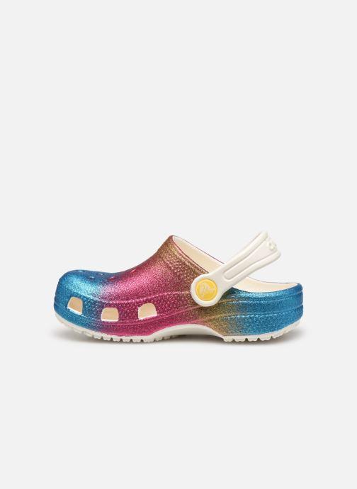 Sandalias Crocs Classic Ombre Glitter Clog Kids Multicolor vista de frente