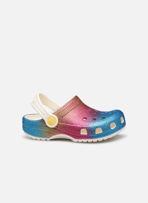 Sandalias Crocs Classic Ombre Glitter Clog Kids Multicolor vistra trasera