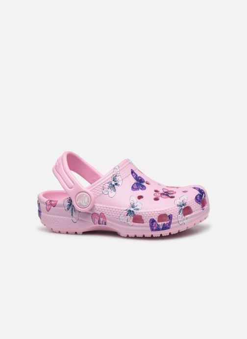 Sandales et nu-pieds Crocs Classic Butterfly Clog PS Rose vue derrière