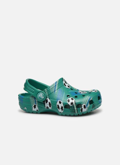 Sandalias Crocs Classic Sport Ball Clog PS Verde vistra trasera