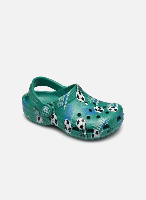 Sandalias Crocs Classic Sport Ball Clog PS Verde vista de detalle / par