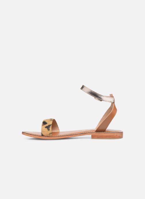 Sandali e scarpe aperte L'Atelier Tropézien IL214 Marrone immagine frontale