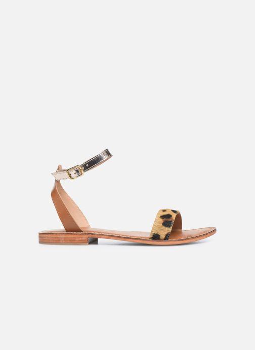 Sandali e scarpe aperte L'Atelier Tropézien IL214 Marrone immagine posteriore
