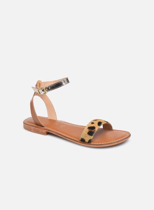 Sandali e scarpe aperte L'Atelier Tropézien IL214 Marrone vedi dettaglio/paio
