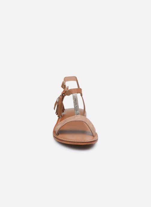 Sandali e scarpe aperte L'Atelier Tropézien IL213 Marrone modello indossato