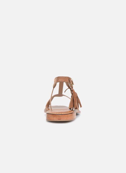 Sandali e scarpe aperte L'Atelier Tropézien IL213 Marrone immagine destra