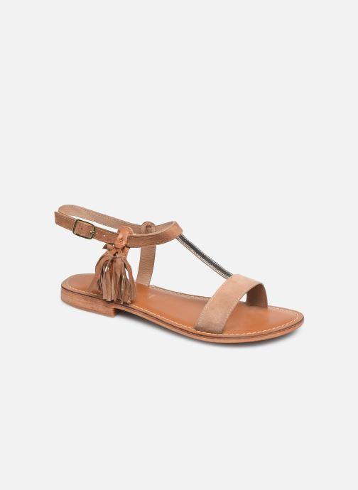 Sandali e scarpe aperte L'Atelier Tropézien IL213 Marrone vedi dettaglio/paio