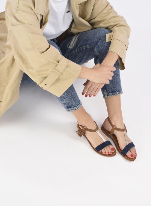 Sandales et nu-pieds L'Atelier Tropézien IL213 Marron vue bas / vue portée sac