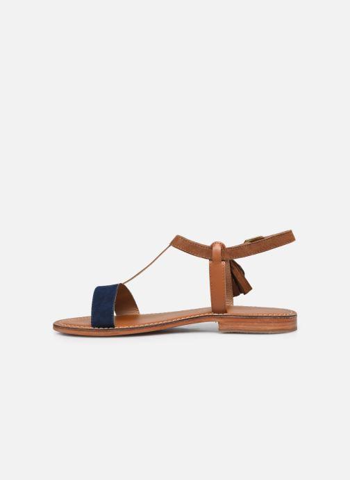 Sandales et nu-pieds L'Atelier Tropézien IL213 Marron vue face
