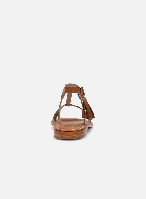 Sandales et nu-pieds L'Atelier Tropézien IL213 Marron vue droite