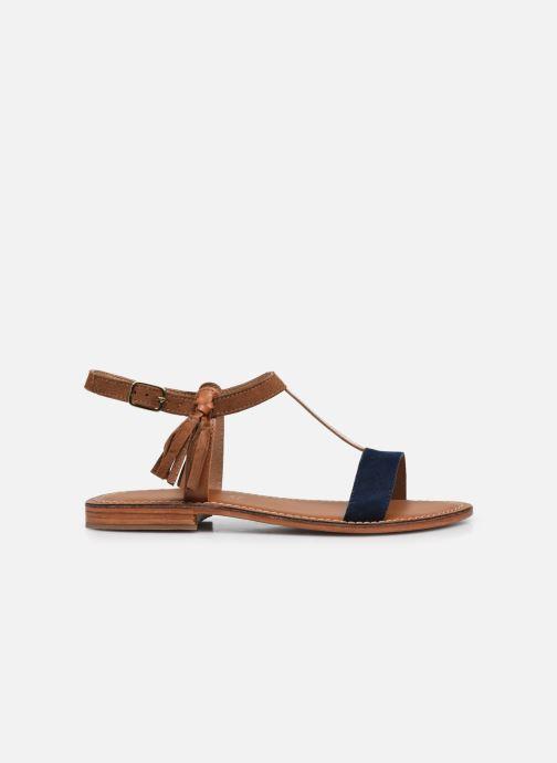 Sandales et nu-pieds L'Atelier Tropézien IL213 Marron vue derrière