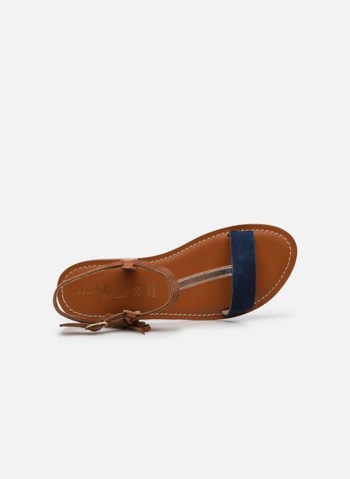 Sandales et nu-pieds L'Atelier Tropézien IL213 Marron vue gauche