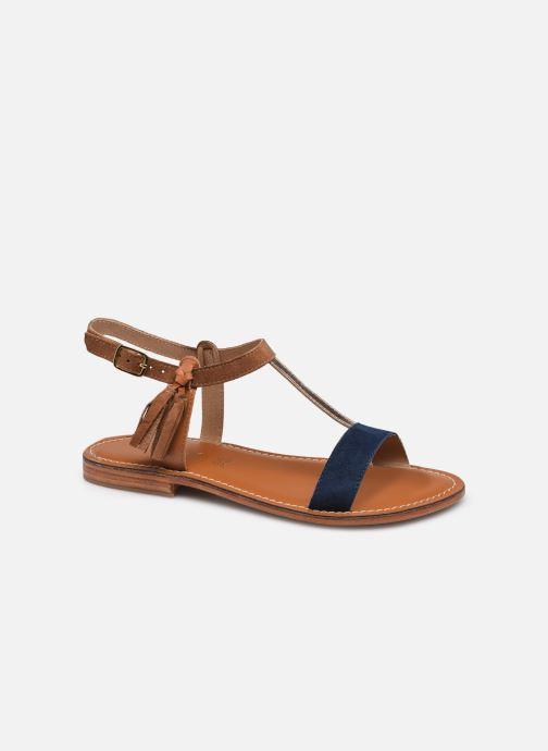 Sandales et nu-pieds L'Atelier Tropézien IL213 Marron vue détail/paire